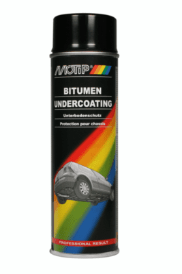 Sort undervognsbeskyttelse 500 ml spray